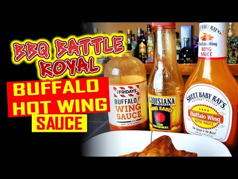Best Buffalo Wing Sauce | BBQ Battle Royal #1 - Rec Tec 680