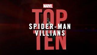 Marvel Top 10 Spider-Man Villains!