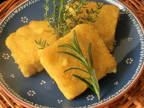 Polenta Recipe - How to Make Polenta - Vegan & Gluten Free
