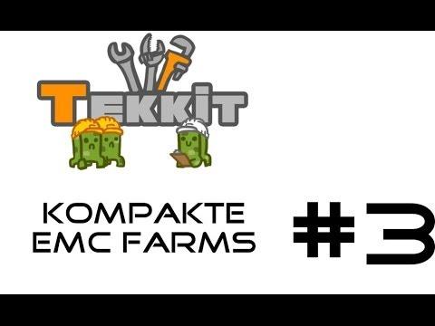 Minecraft Tekkit Tutorial #03   EMC - Farm   2 kompaktesten EMC - Farms [German/1080p]