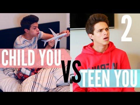 Child You VS Teen You 2! | Brent Rivera