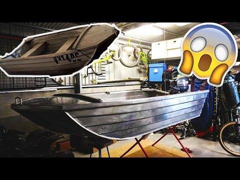 BUILDING A DINGHY DERBY RACE BOAT (episode 1)