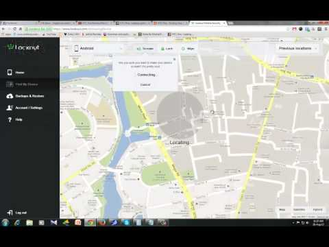 HTC One - Using Lookout Website to Find Your Lost or Stolen Phone
