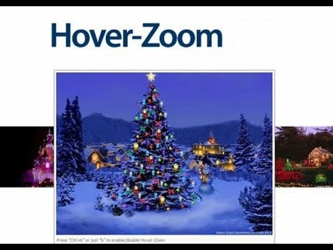 Zoom images on Mouse hover using CSS