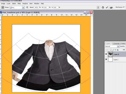 Tips And Tricks On How Too Use Free Transform In Photoshop