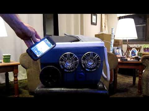Waterproof Bluetooth Speaker Cooler Stereo