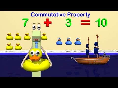 Addition and Subtraction Strategies 1st Grade Math - Commutative and Associative Property