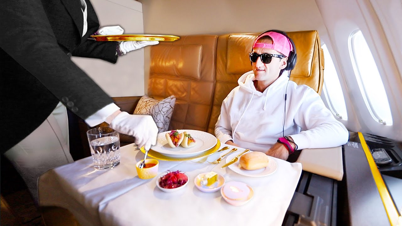 THIS IS THE MOST EXPENSIVE PLANE TICKET IN THE WORLD | Etihad A380 The Residence