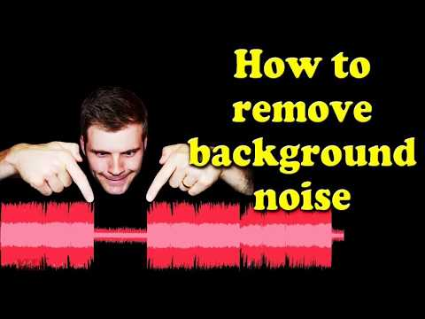 How to Remove Background Noise from Vidoes | Camtasia | Audocity