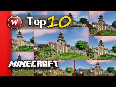 Top 10 - Medieval Texture Packs - Resource Packs - Minecraft 1.11 & Minecraft 1.12 ready [english]