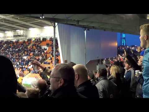 Birmingham fans at Blackpool | Davo's Diary