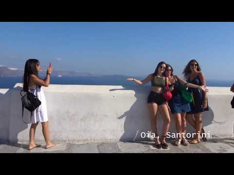 Flying My Drone & Getting Santorini's Iconic Photo