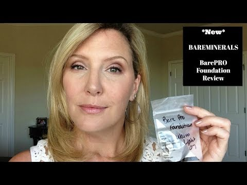 *NEW* bareMinerals BarePRO Performance Wear Foundation | Review | Mature Skin