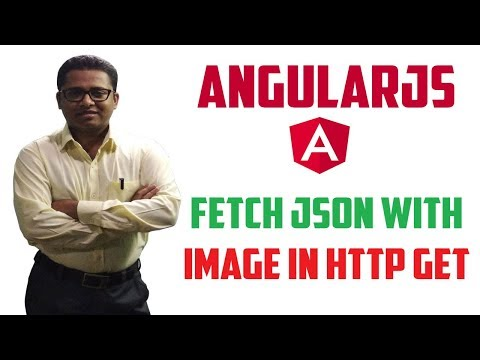 How to Fetch JSON Data with Image using HTTP GET in AngularJS