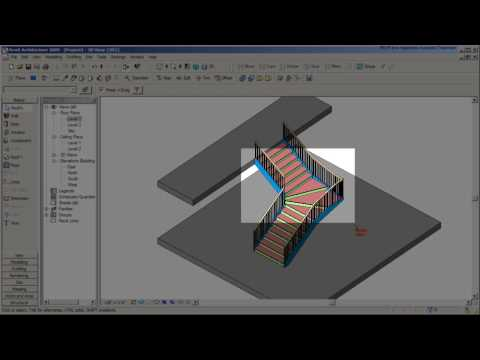 REVIT Stair Tutorial with a Winder - CADclips
