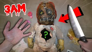 CUTTING OPEN WORLD'S MOST HAUNTED DOLL OFF THE DARK WEB!! *YOU WON'T BELIEVE THIS*