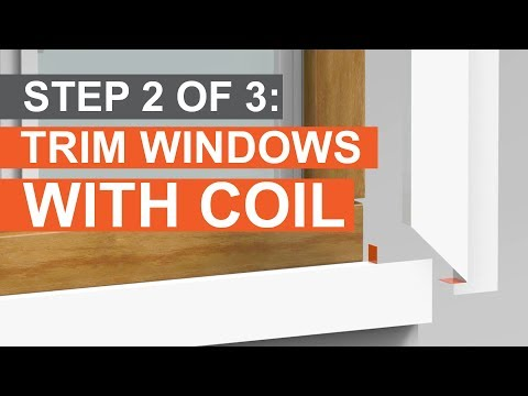 How to Trim a Window: Build Out & Cap with Coil (Part 2 of 3)