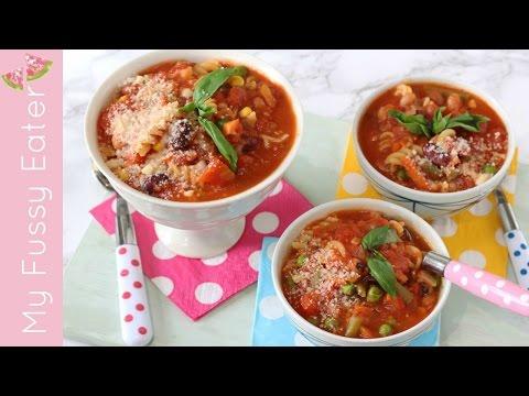 Easy Minestrone Soup | Kid-Friendly Soup Recipe