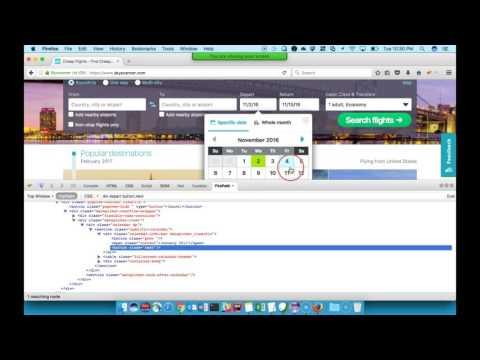 How to Automate Date Picker / Calendar in Selenium HQ Video
