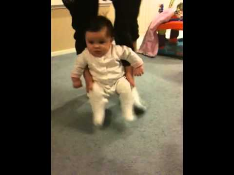 How to make a baby walk fast