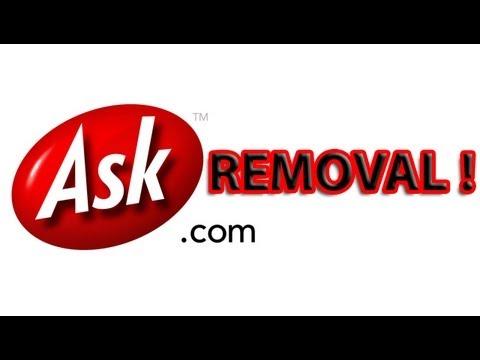 How to remove Ask.com toolbar from Internet Explorer tutorial - 1080p