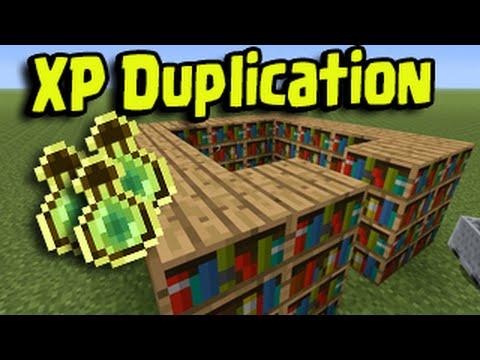 Minecraft PS3, PS4, Xbox, Wii U - XP Duplication Glitch (Keep Enchantments)