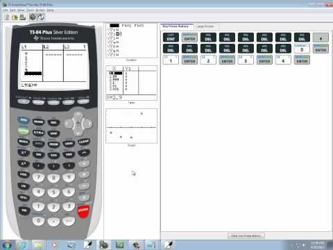 Elementary Statistics: Finding a Mean of a Discrete Random Variable on TI-83-84