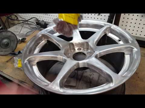 How to strip, sand, and polish aluminum wheels: Part 2