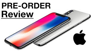 iPhone X Pre-Order Review! Slightly Disappointed…