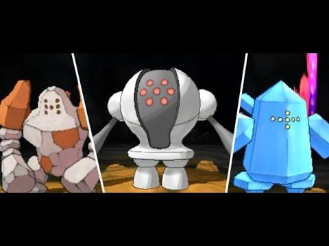 Pokemon Brick Bronze How to Get All Regis (Puzzle + Regice)