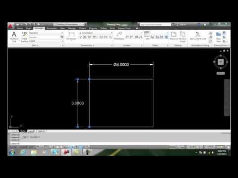 AutoCAD II 20-5 Editing the Dimension Value