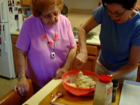 Nana's Homeade Cavatelli - Part 1