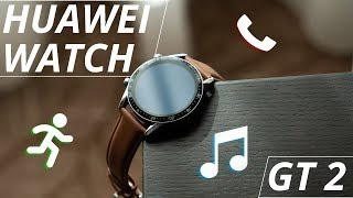 Huawei Watch GT 2 has 2 week battery life and speakers?