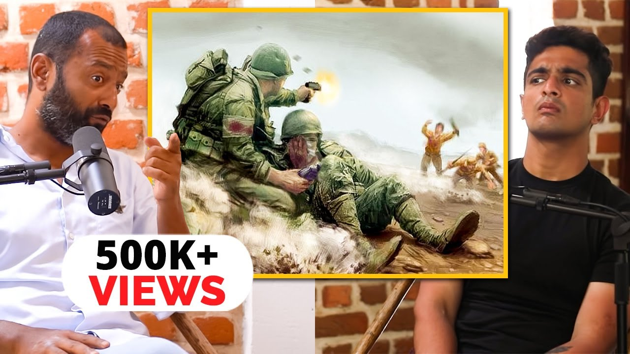"""""""This Soldier Asked Me To CHOP Off His Leg And THROW It Away"""", Major Vivek Jacob 