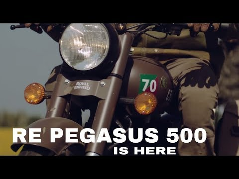 ||LAUNCHED|| All New Royal Enfield PEGASUS 500