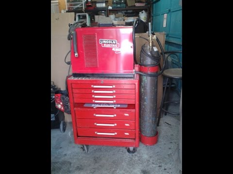 How To Make A Welding Cart Out Of Tool Chest