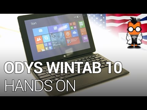Odys WinTab 10 Hands On with an Affordable Windows 8.1 Tablet [EN]