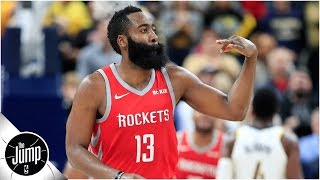 Download James Harden says he's learning a new move that will look like a travel | The Jump Video