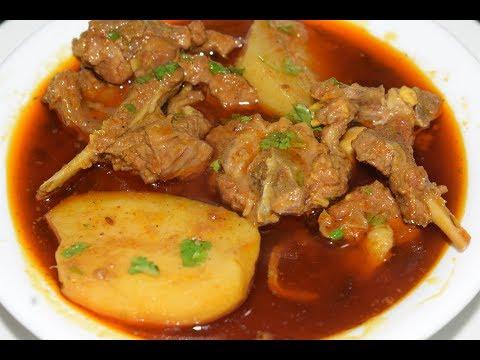 Mutton Aloo Gosht Recipe   Very Tasty   Authentic recipe