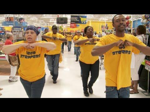 Walmart Workers Flash Mob   Raleigh, NC