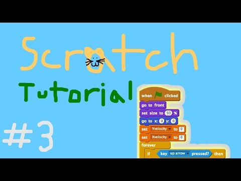 Scratch Tutorial #3- Smooth movement and Scrolling screen