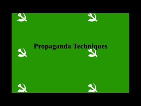 Propaganda TECHNIQUES and Their Use in Animal Farm