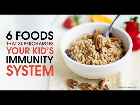 6 Foods That Supercharges Your Kid's Immunity System