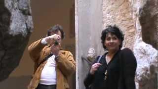 Il Prof. Domenico Offi e la Prof.ssa Vitttoria Longo in visita a Gaeta