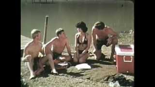 SAFETY SUE - Creepy Army Film - Sexy Bikini Model Talks Safety & Swimming Video - SAFETY SUE