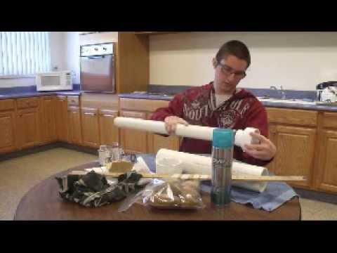 How to make a potato gun by Parker