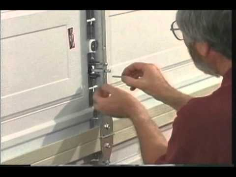 Martin Garage Door Keyed Center Lock System