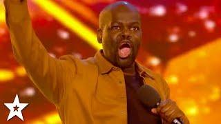 HILARIOUS Comedian Daliso Chaponda WINS GOLDEN BUZZER! | Britain