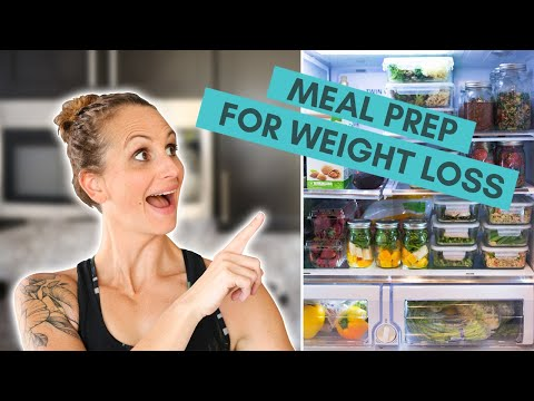 7-Day Meal Prep For Weight Loss | How To Meal Prep | A Sweet Pea Chef
