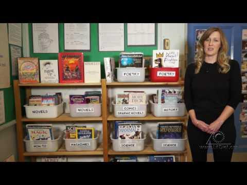 Bookworm Heaven!: Creating a Classroom Library (Virtual Tour)